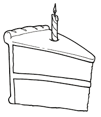 Free Birthday Cake Clipart Black and White Best Food Clip Art