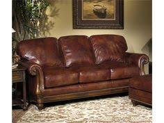 Bradington Young Sheffield Leather Sofa by Why Settle For A Chair That Just Looks Good When You Can Have One