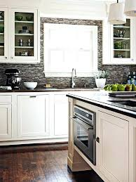 White Cabinets Dark Countertop Backsplash by Kitchen Backsplash White Cabinets U2013 Subscribed Me