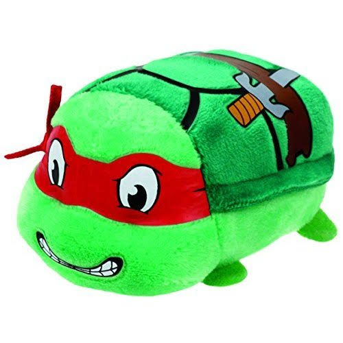 Ty Teeny Teenage Mutant Ninja Turtle Stuffed Plush Soft Toy - Raphael, 4""