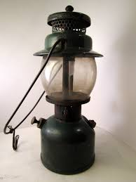 Gas Light Mantles Canada by 1945 Coleman Lantern Model 242c Green Single Mantle Liquid Fuel