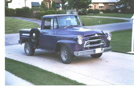1957 International Pickup   International