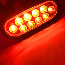 2X Truck Trailer Oval Sealed LED Turn Signal Stop Tail Light Side ... 2x Led Rear Tail Lights Truck Trailer Camper Caravan Bus Lorry Van 0708 Dodge Ram Pickup Euro Red Clear 111 Round And W Builtin Reflector 4 Inch Led Whosale 2018 8 Car Light Warning Rear Lamps Waterproof Amazonca Trucklite 44022r Super 44 Stopturntail Kit 42 2 Pcs With License Plate Lamp Durable Lights Ucktrailer Circular Stoptail Lamp 1030v 1 Pair 12v Turn Signal 20fordf150taillight The Fast Lane