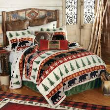 King Bed Comforters by Bear Valley King Bed Set