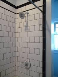 Light Blue Subway Tile by Interior Inspiring Blue And White Bathroom Decoration Using Light