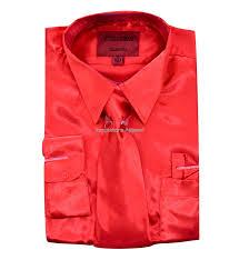 vittorio romani men u0026 039 s shiny dress shirt solid color tie and
