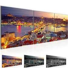 istanbul deko bilder drucke fürs schlafzimmer günstig