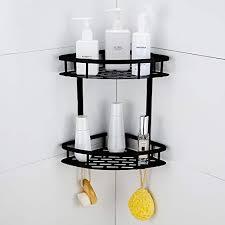 schwarz 1 pack encoft duschregal eckregal ohne bohren bad