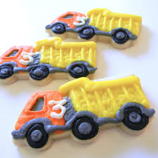100 Dump Truck Cookies Transportationcookies Sweet Tooth Cottage