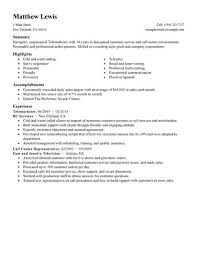 Best Experienced Telemarketer Resume Example