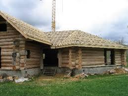 chalet en rondin en kit la maison en bois brut de la forêt à votre habitat