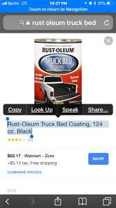 Rust-Oleum Truck Bed Coating, 124 Oz, Black (new!) For Sale In Grand ... Rustoleum Bed Liner Rrshuttleus Anyone Have Bed Liner Linex On Flares Etc Toyota 4runner Fend Flare Arches Done In Rustoleum Great Finish Land Who Painted Fendbumpers Bedliner Or Undercoating Rust Oleum Truck Coating Lowes Viralizam And Bedding Pro Kit Walmartcom Iron Armor Bedliner Spray Rocker Panels Dodge Diesel Truckdomeus Cj Roll Call Lets See Them All Page 494 Jeepforum Truck Review Youtube How To Apply Spray In A Can Truckdowin Por15 49701 Oem Black Waterproof