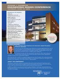 Siemens Dresser Rand Presentation by Fasenmyer Engineering Design Conference Program 2013 By Penn State
