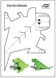 Glue Lee Printable Dinosaur