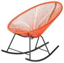 Innit Acapulco Rocking Chair by Polivaz Mayan Hammock Acapulco Rocking Chair Contemporary