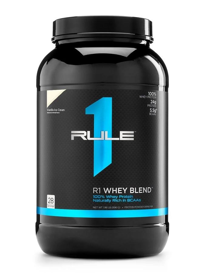 R1 Whey Blend 100% Pure Whey Protein - Vanilla Cream