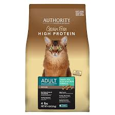 high protein cat food authority indoor cat food grain free high protein