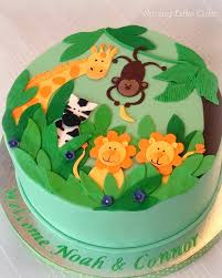 Jungle Baby Shower Cake Shower Cakes Cake And Jungle Cake