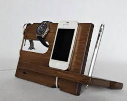 Mens Dresser Valet With Charger by Charging Valet Etsy