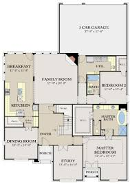 Ryland Homes Floor Plans Arizona by Williamsburg Floor Plan In Stoney Creek Calatlantic Homes