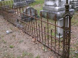Halloween Graveyard Fence Ideas by Cemetery Fences Wrought Iron Hungrylikekevin Com