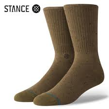STANCE SOCKS ICON 2 Stance Socks Icon 2 OLIVE M556c18ico