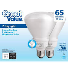 de west wind great value light bulb 14w 65w equivalent r30 cfl