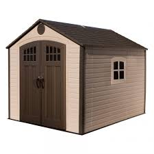 LIFETIME PRODUCTS Gable Storage Shed mon 8 ft X 10 ft