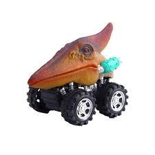 100 Dinosaur Monster Truck 2018 New Brand Pull Back Toy Car Fast Big Tire Wheel