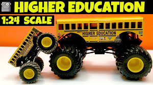 HIGHER EDUCATION 1:24 Scale Monster Jam Truck Grave Digger - YouTube 100 Bigfoot Presents Meteor And The Mighty Monster Trucks Toys Truck Cars For Children Cartoon Vehicles Car With Friends Ambulance And Fire Walking Mashines Challenge 3d Teaching Collection Vol 1 Learn Colors Colours Adventures Tow Excavator The Episode 16 Tv Show Monster School Bus Youtube