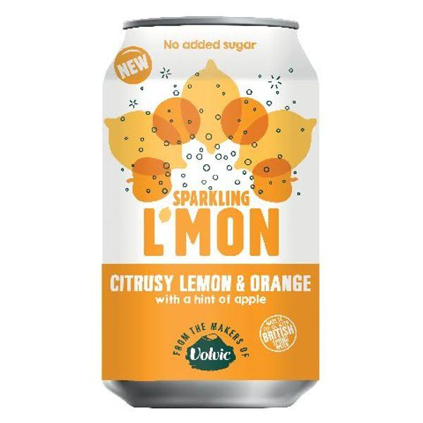 Lmon Sparkling Canned Drink - Lemon and Orange, 330ml