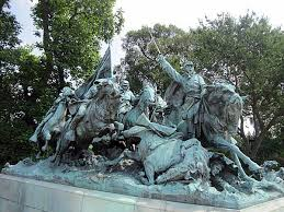 Henry Merwin Shrady Sculptor And William Pearce Casey Architect Cavalry Charge