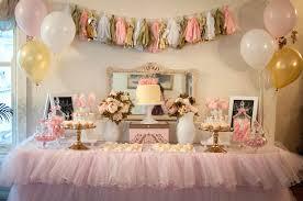 kara s party ideas pink and gold ballerina birthday party via