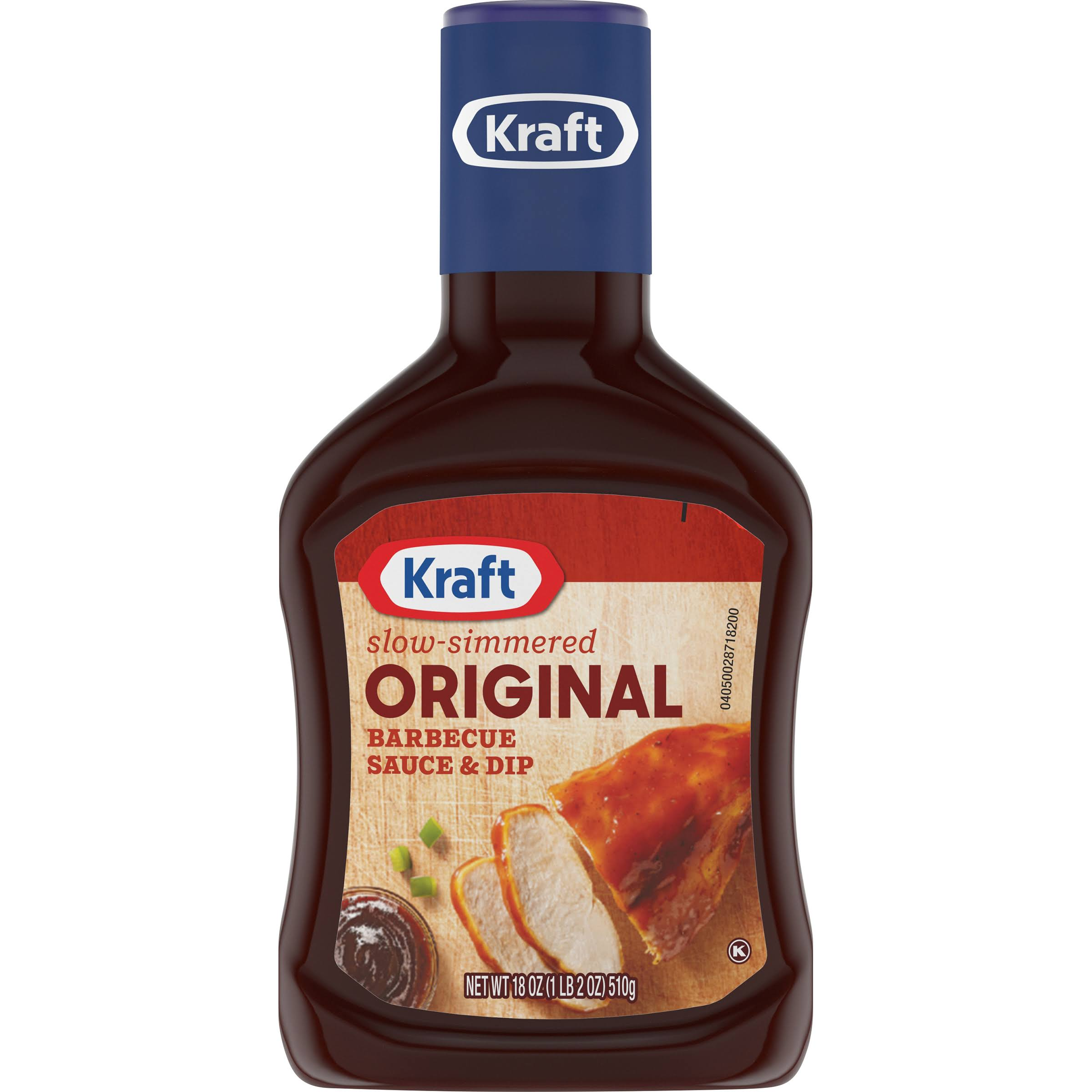 Kraft Barbecue Sauce Slow-Simmered Sauce - Original, 18oz
