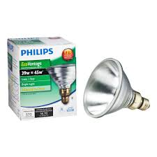 philips 45 watt equivalent halogen par38 indoor outdoor spotlight