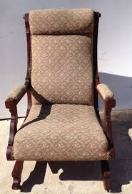 Antique~Eastlake Rocking Chair~Carved~Victorian Platform ... Victorian Rocking Chair Image 0 Eastlake Upholstery Fabric Application Details About Early Rocker Rocking Chair Platform Rocker Colonial Creations Mid Century Antique Restoration Broken To Beautiful 19th Mahogany New Upholstery Platform Eastlake Govisionclub Illinois Circa Victoria Auction
