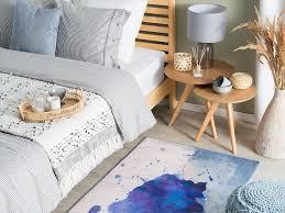 teppich odalar blau 80x150 cm ch