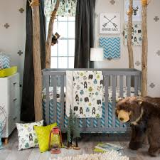 amazon com glenna jean north country 3 piece crib set baby