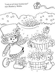 Strawberry Shortcakes Connect The Dots Fun DotsStrawberry ShortcakeColoring BooksJulStrawberriesColouring