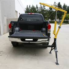 Hitch Mounted Hydraulic Crane Heavy Duty Pickup Truck Lift Portable ...