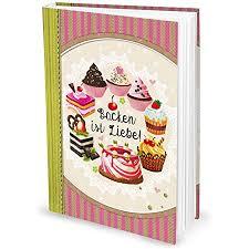 logbuch verlag rezeptbuch zum einschreiben geschenk weihnachten küche backen torten mit inhaltsverzeichnis leeres buch für rezepte din a4