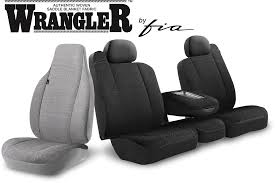 Wrangler™ Series (Solid) Custom Seat Covers - Fia Inc. : Fia Inc.