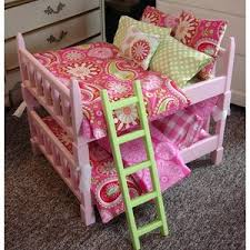 AVAILABLE IN JANUARY Doll Bunk Bed Double sized Bunk Set