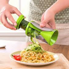 Vegetable Spiral Slicer Carrot Cucumber Zucchini Noodle Julienne Cutter Peeler Kitchen Piece Grater Cooking Tool