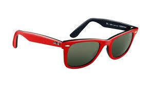 cadre lunette ban ban rb2140 lunettes de soleil wayfarer top texture sur cadre