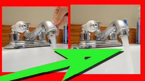 Sink Handles Turn Wrong Way by How To Fix A Faucet With Low Water Pressure Bathroom Sink