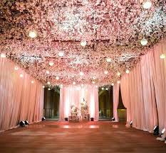 How To Decorate A Ceiling For Wedding Reception Decor With Floral Yes Please By Photo