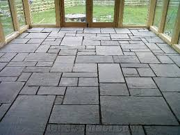 grey slate flooring pattern from united kingdom stonecontact