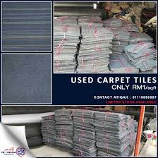 second carpet tiles sale for only rm1 klang other services