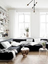 wohnzimmer in schwarz weiß sind eindrucksvoll und extrem